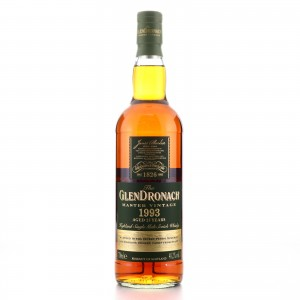 Glendronach 1993 Master Vintage 25 Year Old