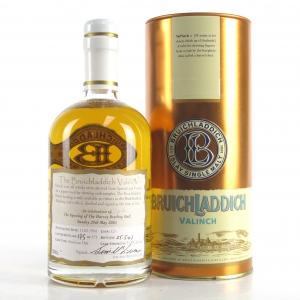 Bruichladdich 1984 Valinch 'Celebration of the Opening of the Harvey Bottling Hall'