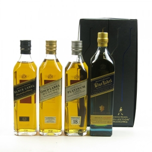 Johnnie Walker The Collection 4x20cl