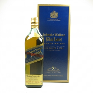 Johnnie Walker Blue Label / Argentinian Import