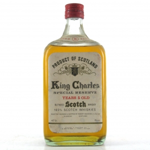 King Charles 5 Year Old Special Reserve 1960s