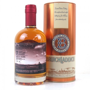 Bruichladdich 1992 Valinch 21 Year Old / Allan Logan