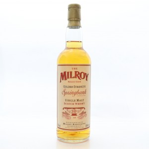 Springbank 30 Year Old Milroy Selection