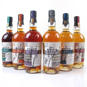 Feis Ile 2017 Hunter Laing Kinship Collection 6 x 70cl