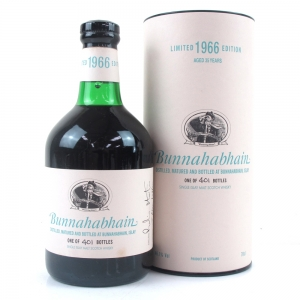 Bunnahabhain 1966 Single Cask 35 Year Old