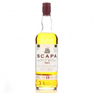 Scapa 1984 Gordon and MacPhail 10 Year Old 75cl / US Import