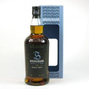 Springbank 18 Year Old Oloroso Sherry