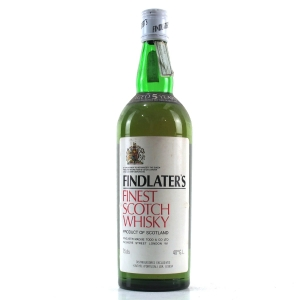 Findlater's 5 Year Old Finest Scotch Whisky 1980s