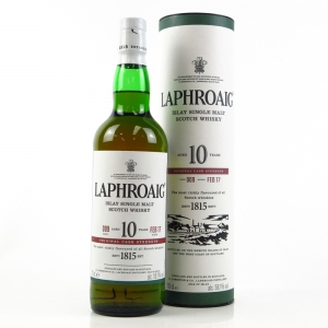 Laphroaig 10 Year Old Cask Strength Batch #009