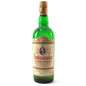 Ambassador Deluxe Scotch Whisky 1 Litre 1960s
