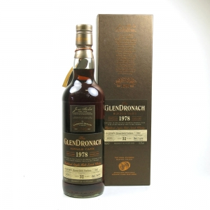 Glendronach 1978 Single Cask 32 Year Old