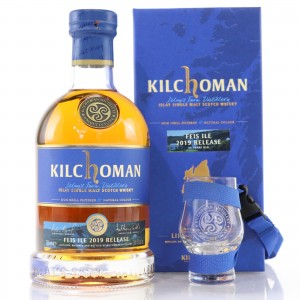 Kilchoman 11 Year Old Bourbon and Sherry / Feis Ile 2019 with Glass