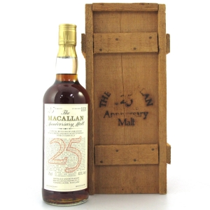Macallan 1957 Anniversary Malt 25 Year Old