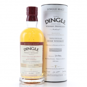 Dingle Irish Single Malt Small Batch No. 3 / Bourbon and Port Casks