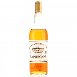 Laphroaig 1966 Intertrade 18 Year Old Cask Strength