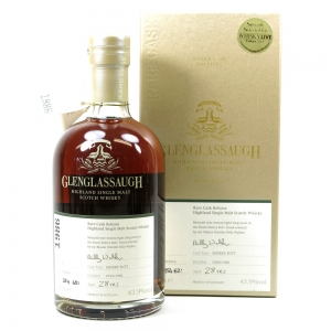 Glenglassaugh 1986 Single Cask Whisky Live Tokyo 2014 28 Year Old