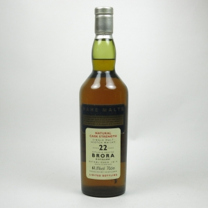 Brora 1972 Rare Malt 22 Year Old