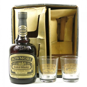 Bowmore De Luxe Including Glasses 1970s