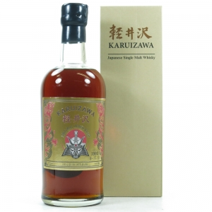 Karuizawa 1980 Golden Samurai Bottled