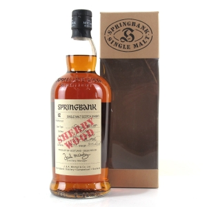 Springbank 1990 12 Year Old Sherry Wood 75cl / US Import
