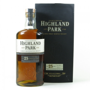 Highland Park 25 Year Old Front