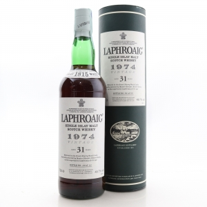 Laphroaig 1974 Sherry Casks 31 Year Old