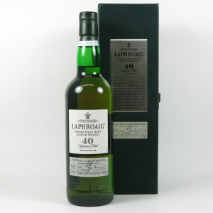 Laphroaig 40 Year Old Front