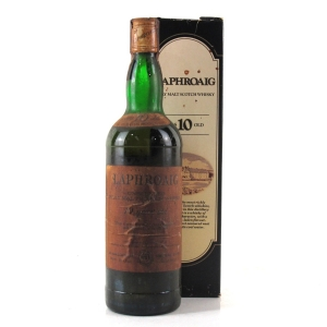 Laphroaig 10 Year Old 1970s / US Import