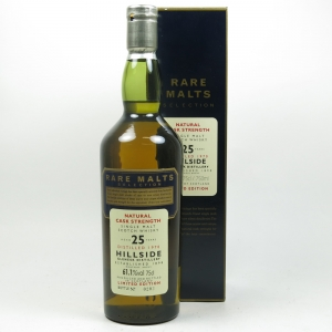 Hillside 1970 Rare Malt 25 Year Old 75cl