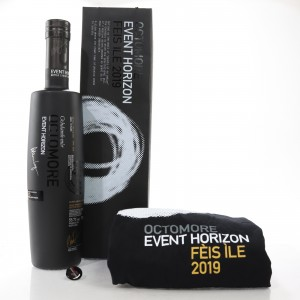 Octomore 2007 Event Horizon 12 Year Old / Feis Ile 2019 - Signed with T-Shirt & Pin Badge