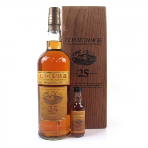 Glenmorangie 25 Year Old / Includes 5cl Miniature