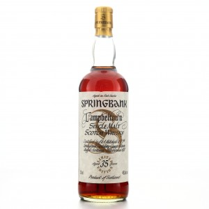 Springbank 35 Year Old Millennium Limited Edition / US Import