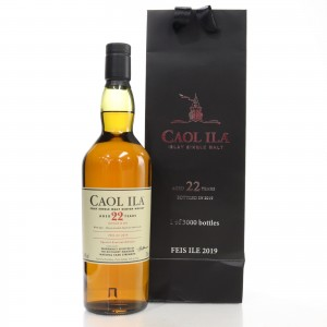 Caol Ila 22 Year Old Cask Strength / Feis Ile 2019