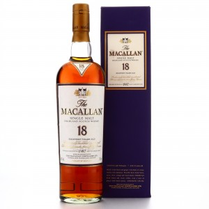 Macallan 1987 18 Year Old