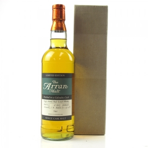 Arran Calvados Single Cask Bottle Number #1
