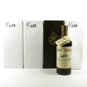 Ben Nevis 1984 Single Cask 25 Year Old 3 x 70cl