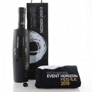 Octomore 2007 Event Horizon 12 Year Old / Feis Ile 2019 with T-Shirt & Pin Badge
