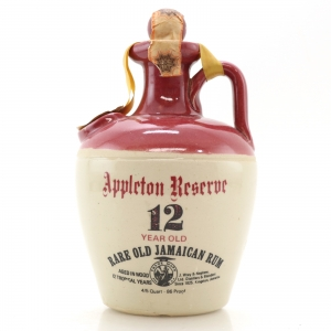 Appleton Reserve 12 Year Old Rum Decanter 1960s