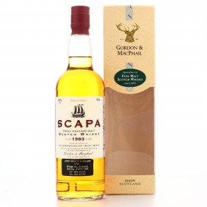 Scapa 1983 Gordon and MacPhail