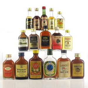 Rum Selection 16 x Miniature