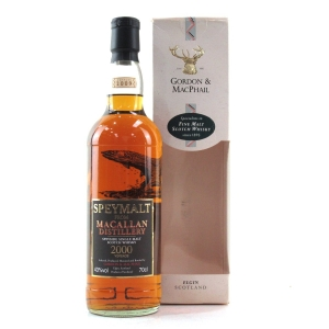 Macallan 2000 Gordon and MacPhail Speymalt