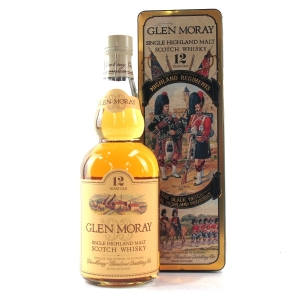 Glen Moray 12 Year Old / Black Watch Highland Regiment