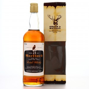 Mortlach 21 Year Old Gordon and MacPhail 1980s