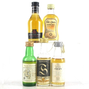 Costal and Island Miniature Selection 5 x 5cl
