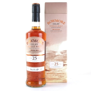 Bowmore 25 Year Old Feis Ile 2010 25th Anniversary