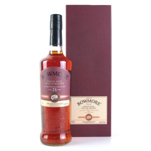 Bowmore 1990 Feis Ile 2016 25 Year Old / Claret Wine Cask Finish
