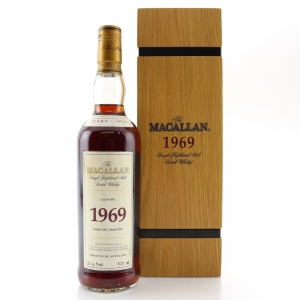 Macallan 1969 Fine and Rare 32 Year Old / Cask #9369