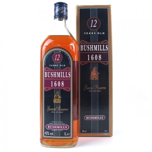 Bushmills 1608 Special Reserve 12 Year Old 1 Litre