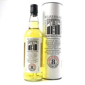 Kilkeran 8 Year Old Cask Strength