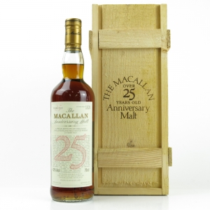 Macallan 1969 Anniversary Malt 25 Year Old
